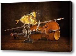 Постер Вомер и скрипка
