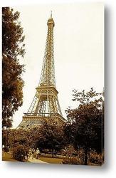 Вид на Париж с Монпарнаса роялти