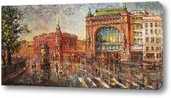 Картина Елисеевский на Невском