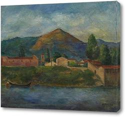 Картина На реке Арно