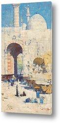 Картина Улица Каира (или мечеть султана Хасана)