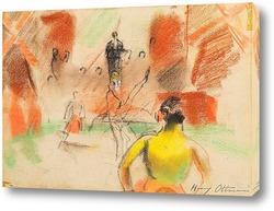 Картина Под Куполом цирка