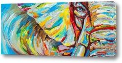 Картина Глаз слона