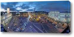 Постер а с платформы говорят это город Ленинград