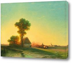 Закат в Ялте