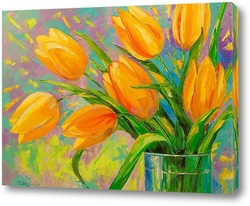 Картина Букет тюльпанов