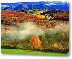 Картина осенние горы