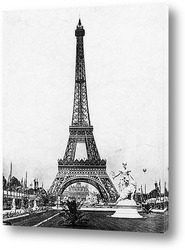 Вид на Всемирную выставку со стороны Сены,1900