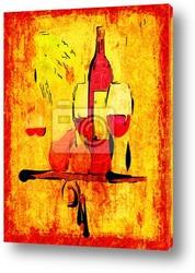 Постер Хорошее вино