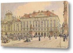 Вена.Переулок Наглергассе