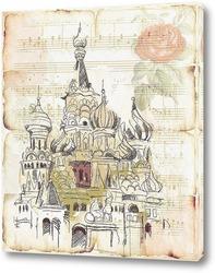 Постер Архитектура Москвы