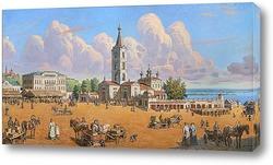Постер Старый Сарапул. Соборная площадь.