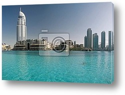 Постер Dubai skyline
