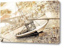 Постер Порт в Португалии