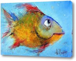 Постер Январьская рыбка