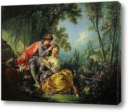 Картина Четыре времени года. Весна (1755)