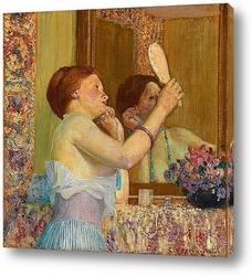 Женщина с зеркалом