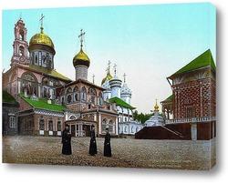 Постер Троицк Сергиева Лавра под Москвой