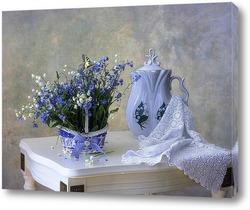 Постер Незабываемые весенние цветы