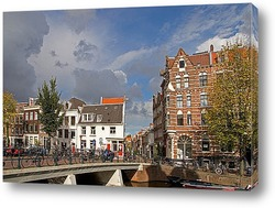 Башня с часами.Амстердам.