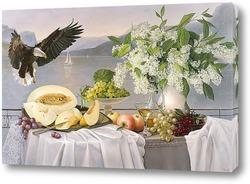 Десерт с орланом