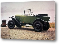 Гоночный автомобиль Масона в гонке <Дороги Элгина>,1914г.