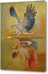 Постер Орел на охоте