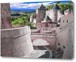 Постер Вид на замок