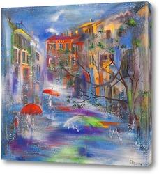 Картина Дождь