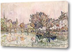 Картина Новый мост, Париж