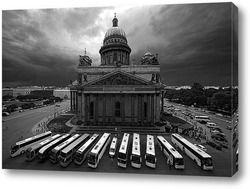 Постер Белые клавиши Петербурга