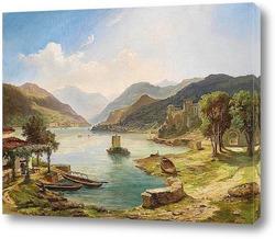 Картина Северные итальянские озера
