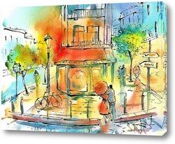 Картина Прогулка по Парижу