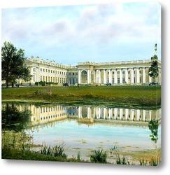 Постер Пушкин, Царское село. Александровский дворец. Внешний вид.