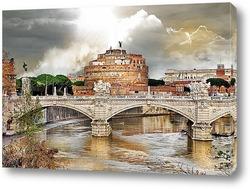 Удивительный Рим.Замок Сант Анджело