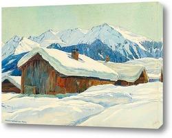 Картина Зимний вид