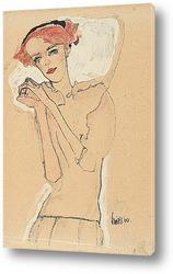 Картина Портрет женщины, 1910