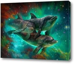 Дельфины в космосе