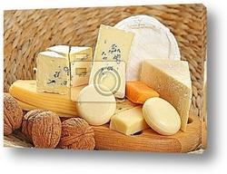 Постер Board of cheese