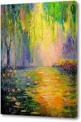 Картина Сказочный пруд