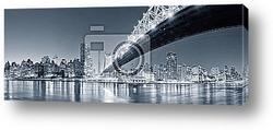 Постер Панорама,Нью йорк