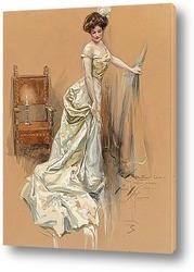 Картина Иллюстрация к обложке журнала, 1909