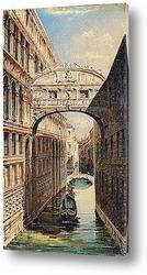 Постер Мост вздохов, Венеция
