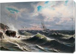 Картина Чайка над морем