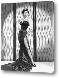 Постер Актриса Эва Гарднер,1952г.