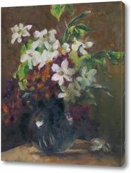 Картина букет по А. Дольман
