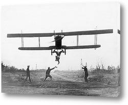 Киносьёмка первых полётов.