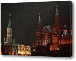 Постер Метель в Москве