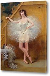 Постер Портрет танцовщицы Цукки