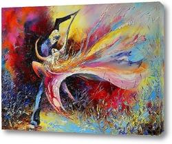 Картина Танец страсти
